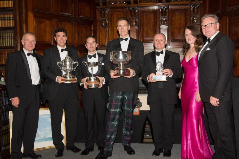 British Soldier crew and supporters celebrate a fabulous year at the RORC Prizegiving Dinner